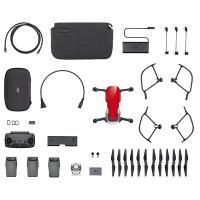 фото квадрокоптер dji mavic air fly more combo (flame red, красный)