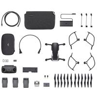 фото квадрокоптер dji mavic air fly more combo (onyx black, черный)