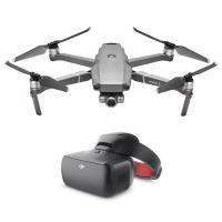 фото квадрокоптер dji mavic 2 zoom + dji goggles re